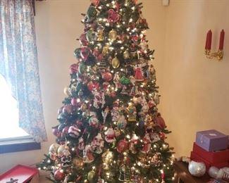 radko & waterford ornaments galore
