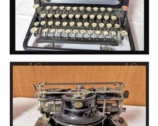 Two fantastic vintage typewriters