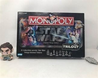 Star Wars Monopoly and Toys