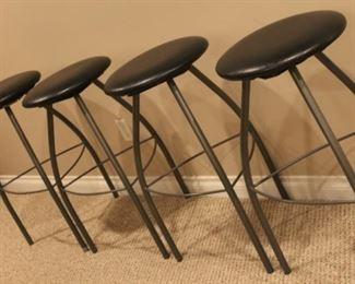 H-31    4 bar stools