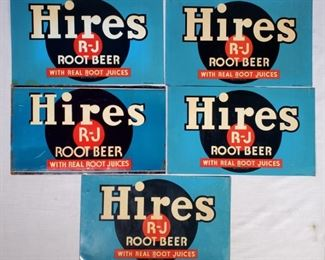 Advertising Hires Root Beer Signs