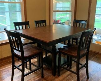Ashley Furniture Counter-Height Expandable Table and Chairs