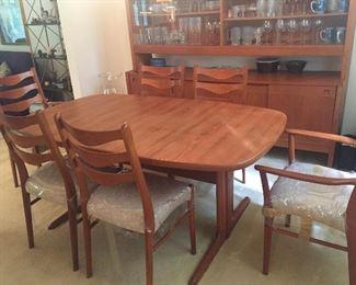 Dyrlund Teak Dining Room $2800.
