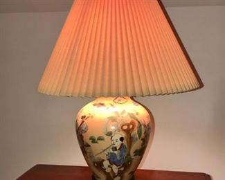 """$50 - Asian Style Lamp; 23""""H"""