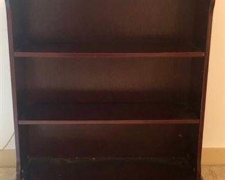 $25 - Bookcase; 17x9.5x33