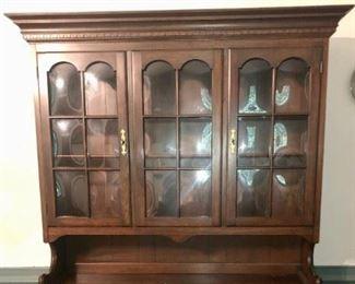 $850 - Pennsylvania House Hutch China Cabinet; 53.5x19x80