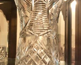 $75 - Crystal Vase