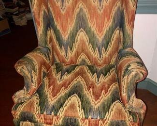 $125 - Wingback Armchair