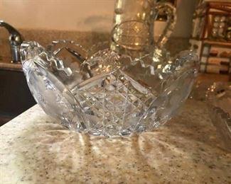 $50 - Cut Lead Crystal Bowl