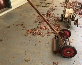 $50 - Antique Rotary Push Craftsman Lawn Mower