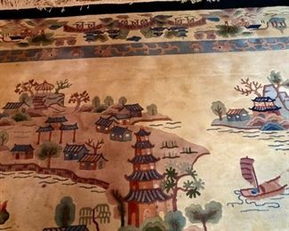 $150 - Handmade Oriental Rug ,  13'x9', Good Condition just needs to be cleaned.