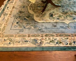 $100 - Handmade Oriental Rug; good condition just needs to be cleaned; 12.5x9.5