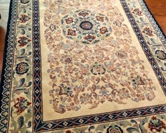 """$75 - Handmade Oriental Rug, 9'x5"""", Good condition, just needs to be cleaned."""