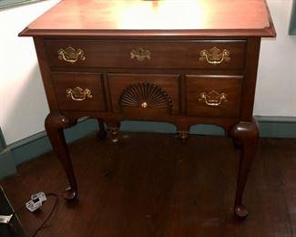 $300 - Henry Henkel Black Cherry Side Table; 31x21x30