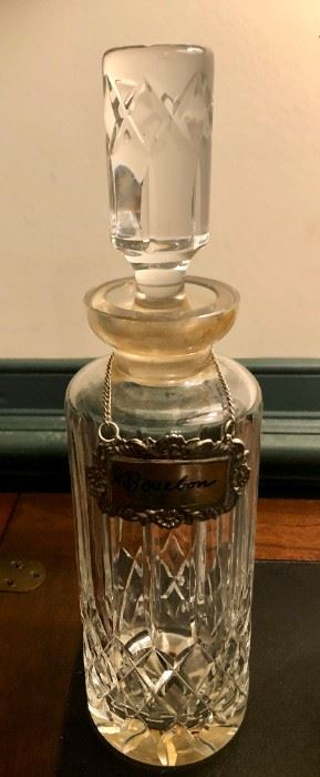 $50 - Crystal Decanter