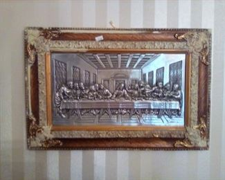 The Lord's Supper framed