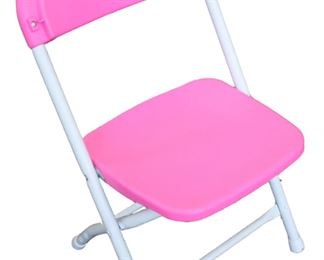 Kids' chair in pink