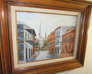 French Quarter painting