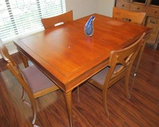 Mid-century dining set by Metz