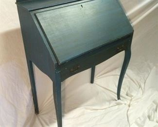 Deep Blue Desk