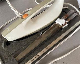 Electric cutting knife