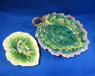 Majolica Platters
