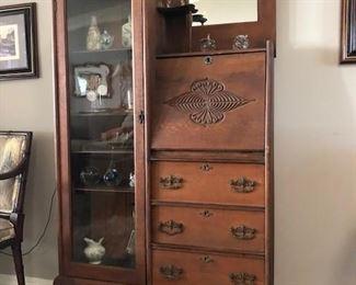 Antique secretary $600