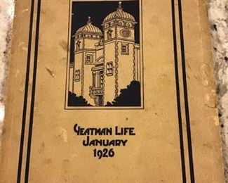 1926 YEATMAN LIFE JANUARY. $25
