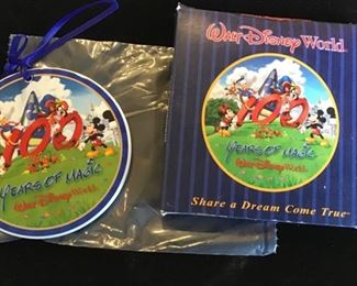 100 years of magic Disney ornament $15