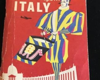 1960 TWA TRAVEL TIPS FOR ITALY $15
