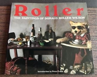 Donald Roller Wilson book of paintings $20