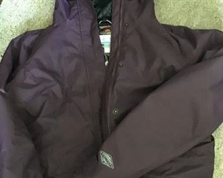 Columbia omniheat size large with zip out silver reflective heat liner  $35
