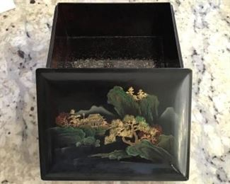 Japanese lament 4 x 6 lined box $15