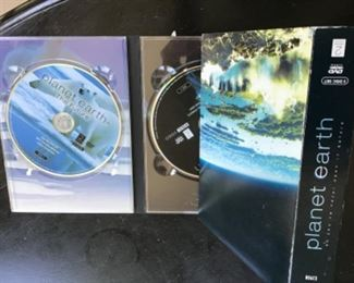 Planet Earth 5 dvd complete set $14