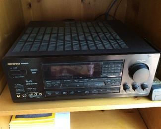 ONKYO INTEGRA CASSETTE RECEIVER $200. Online selling for $275