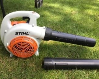Stihl gas powered leaf blower and vacuum $185 used 3 times