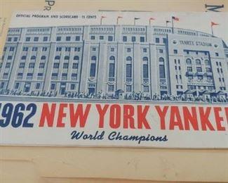 1962 Scorecard  $10