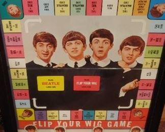 Beatles board game comes with box and pieces $160