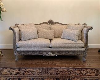 Pre-Sale.  Custom made Sheraton style sofa. $1400.00