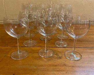 Assortment of Wine Glasses