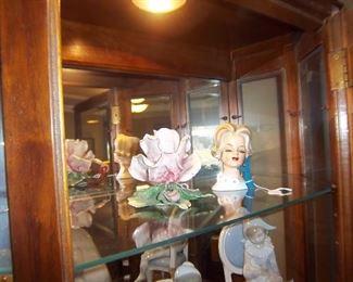 Head Vase and Capodimonte
