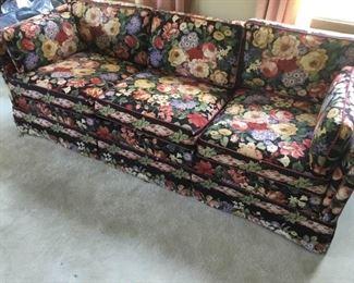 Flowered Sofa