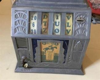 1920s Gum Slot Machine