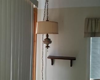 Hanging retro lamp $23