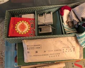 Kit for Knitting machine