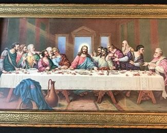 Lord's Supper Framed Print