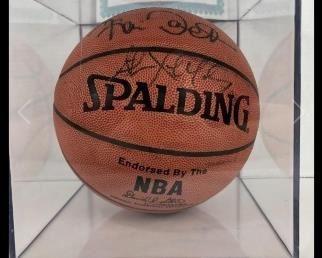 Kevin Garnett & Stephon Marbury Autographed Ball