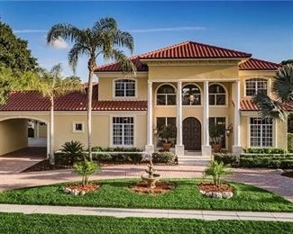 Stately executive home in East Lake Woodlands