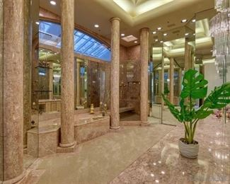This entire bathroom is being remodeled so we are selling everything in here - see further pictures of this amazing pink marble bathroom!  with 24K gold fixtures!!!!