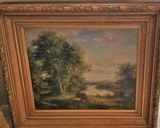Oil Landscape - $525